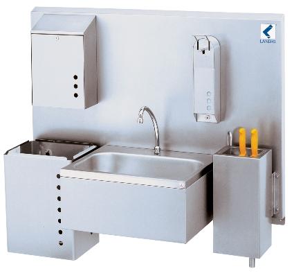 Hygienewand - Perfekt für die Wildkammer