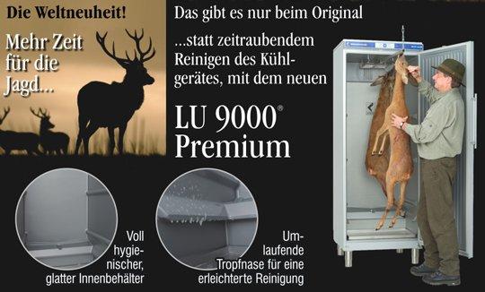 Wildkühlschrank LU 9000 Premium - Die Vorteile