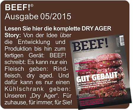 BEEF! - Dry Ager Test